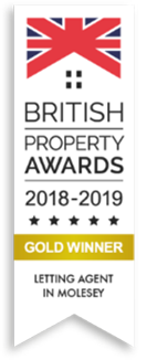 British Property Awards 2018 - 2019 Gold Winner Letting Agent In Molesey