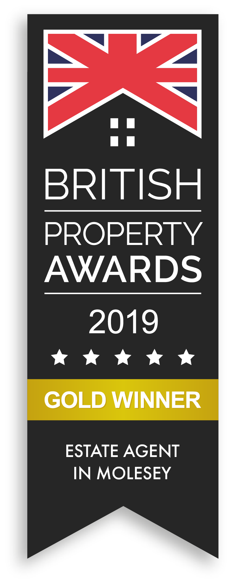 British Property Awards 2019 Gold Winner Estate Agent In Molesey