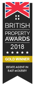 British Property Awards 2018 Gold Winner Estate Agent In East Molesey