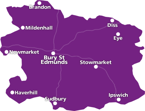 areas covered