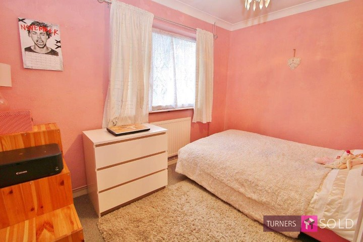 Bedroom two, of property on St James Avenue, Sutton. Sold by Turners Property, Morden.