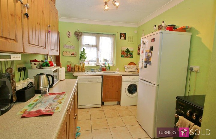 Kitchen of property on St James Avenue Sutton, Sold by Turners Property.