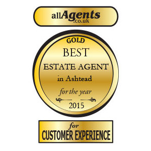 Winner of the Best Estate Agent in Ashtead for the year 2015