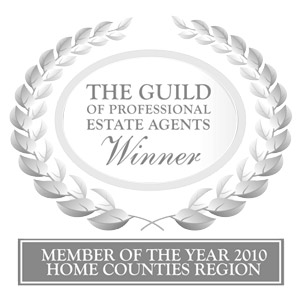 Winner of The Guild Estate Agency 2010 for South West Homes Counties