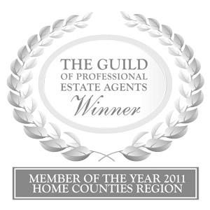 Winner of the Guild Estate Agency 2011 for Home Counties