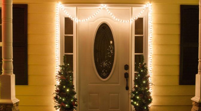 Door with Lighting