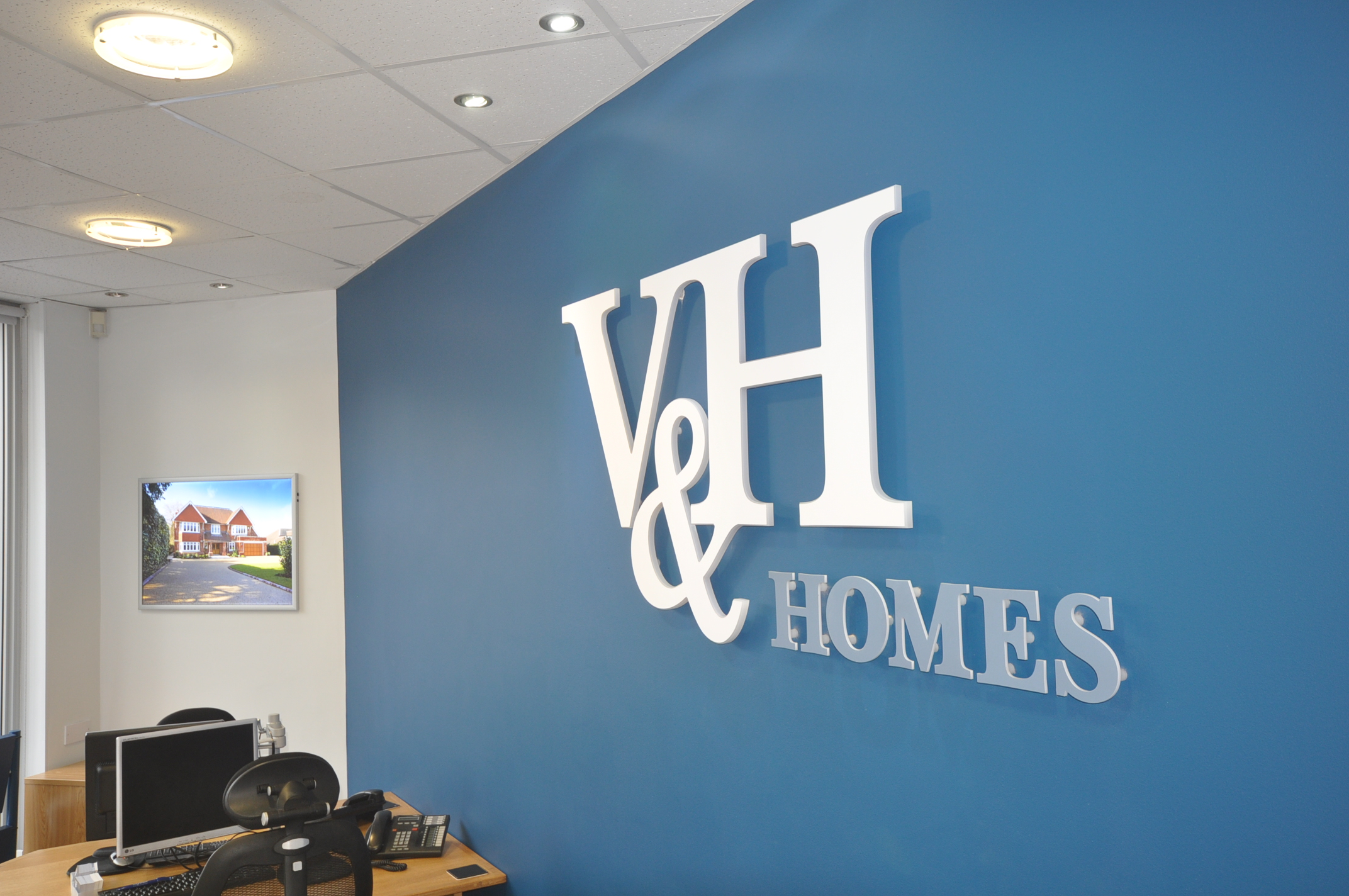 V&H Homes Office